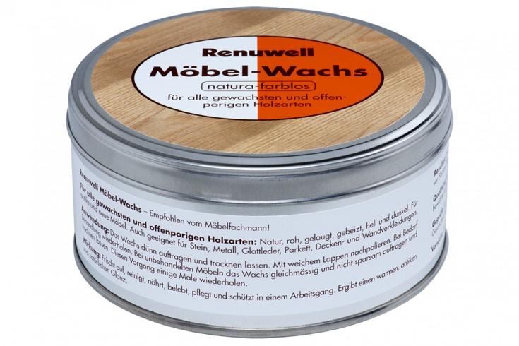 Renuwell Möbel-Wachs 500ml farblos Holzpflege