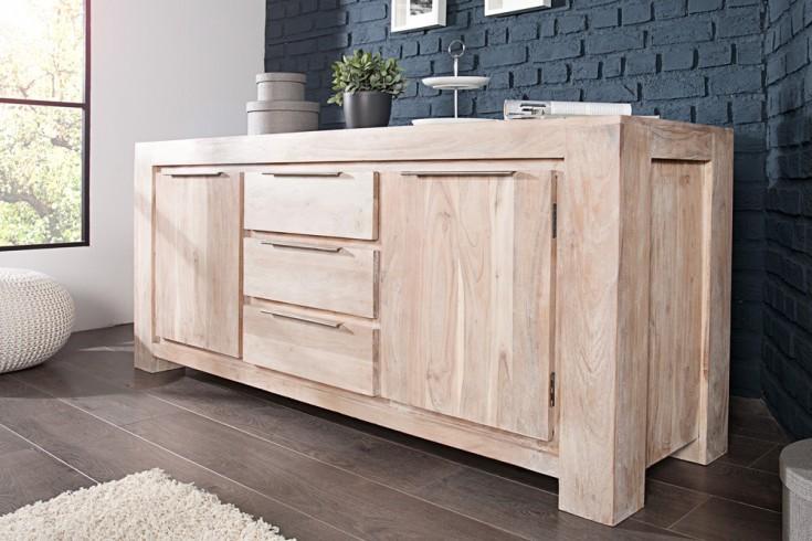 sideboard makassar aus akazie 180cm kommode massiv holz. Black Bedroom Furniture Sets. Home Design Ideas
