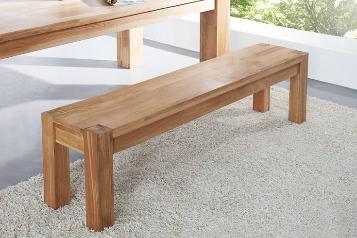 massive sitzbank giant eiche 160cm natur ge lt riess. Black Bedroom Furniture Sets. Home Design Ideas