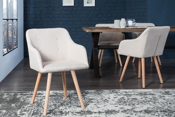 Exklusiver design stuhl scandinavia meisterst ck buche for Design stuhl the dutch retro