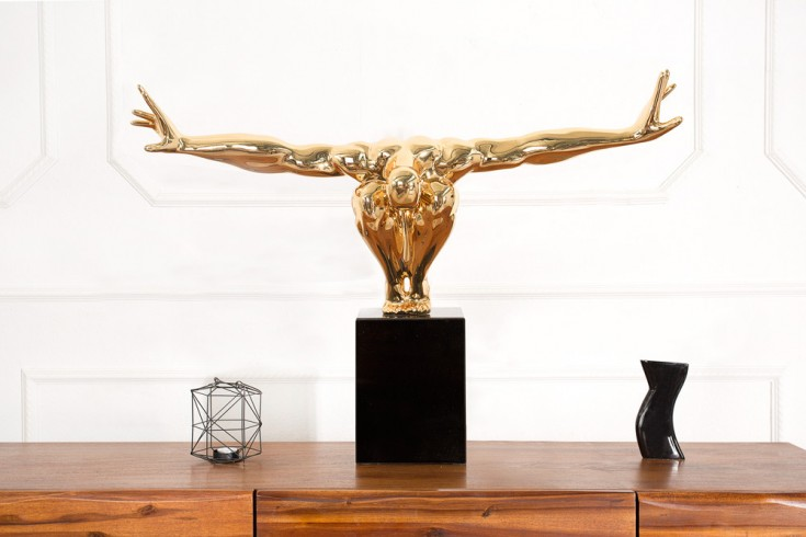 Statue ATHLET I 75 cm gold Turner Dekofigur