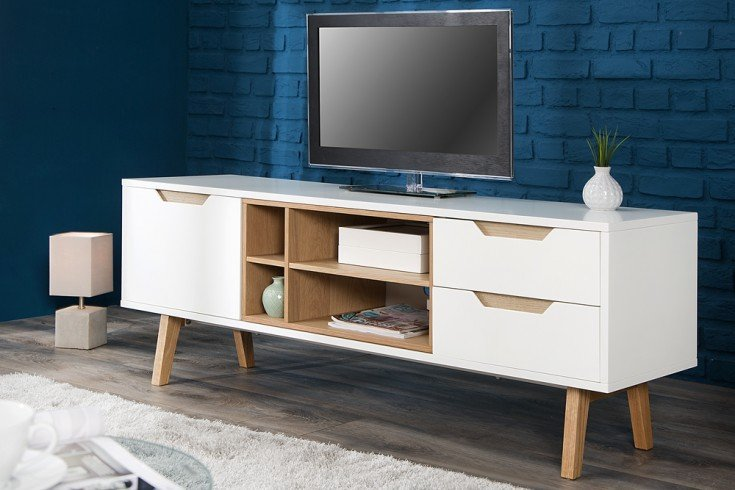 sideboard nordic echt eiche riess. Black Bedroom Furniture Sets. Home Design Ideas