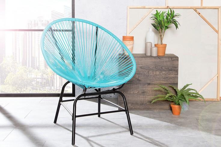 Designklassiker ACAPULCO Chair türkis Indoor Stuhl