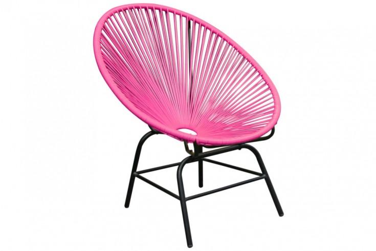Designklassiker ACAPULCO Chair pink Garten Pool Indoor Stuhl