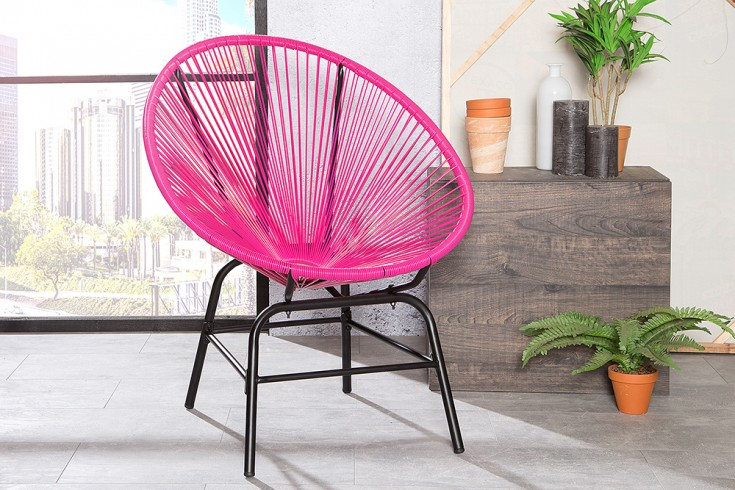 designklassiker acapulco chair pink indoor stuhl riess. Black Bedroom Furniture Sets. Home Design Ideas