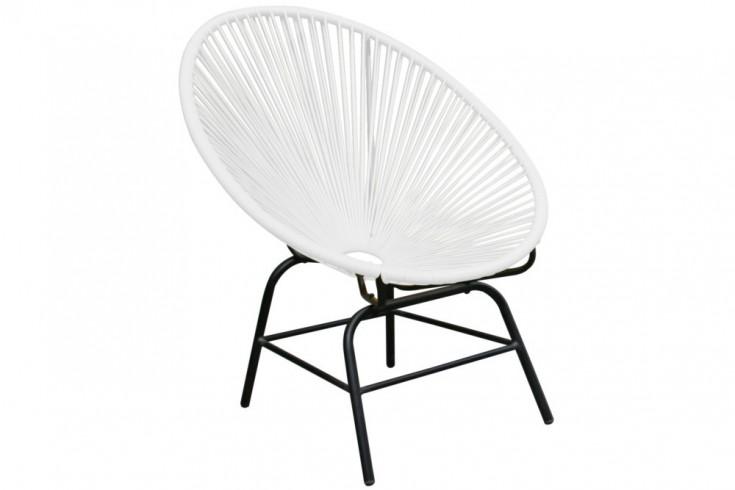 Designklassiker ACAPULCO Chair weiß Garten Pool Indoor Stuhl