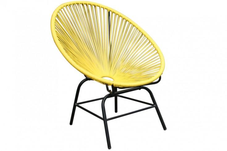 designklassiker acapulco sessel gelb gartenstuhl wetterfest riess. Black Bedroom Furniture Sets. Home Design Ideas