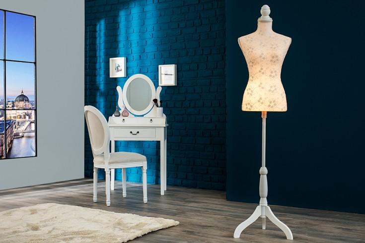 Design Mannequin FLORAL stylische Schneiderpuppe inkl. Beleuchtung