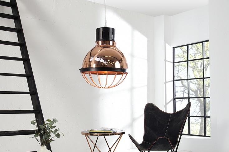 Moderne Industriehängeleuchte FACTORY kupfer 25cm Deckenlampe