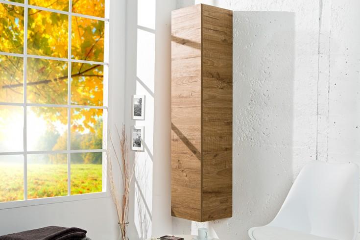 Moderner Design CUBE Eiche natur Wandregal Hängeschrank made in Italy