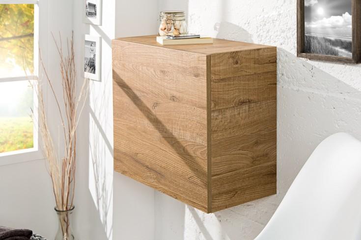 Moderner Design CUBE Eiche natur Hängewürfel made in Italy