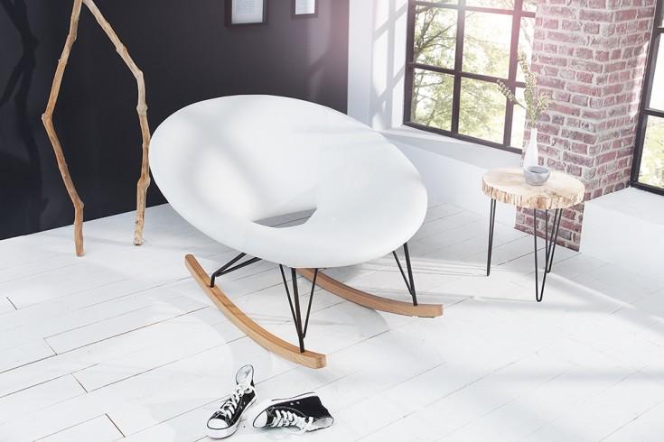 moderner xxl design schaukelstuhl floating wei eiche relaxsessel riess. Black Bedroom Furniture Sets. Home Design Ideas