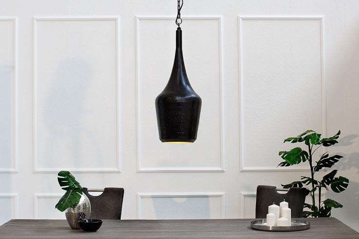 Design Hängeleuchte MODERN ORIENT schwarz kupfer Messing