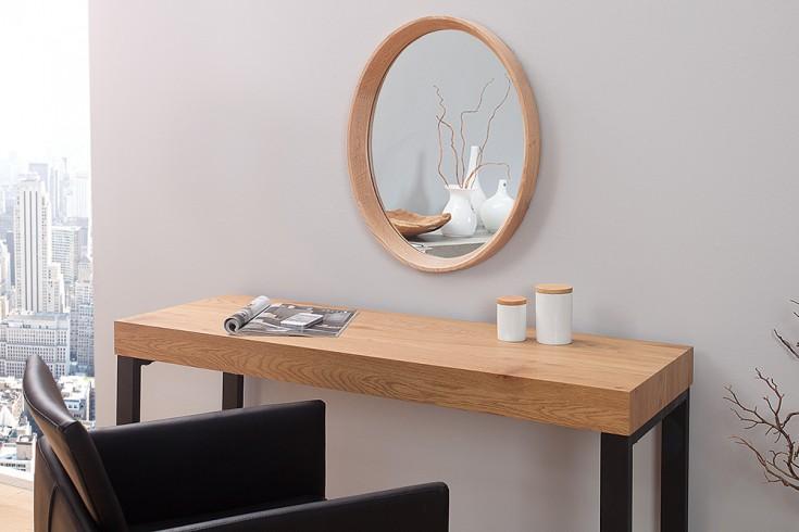 Hochwertiger Spiegel OAK 43x33cm oval nordamerikanische Eiche