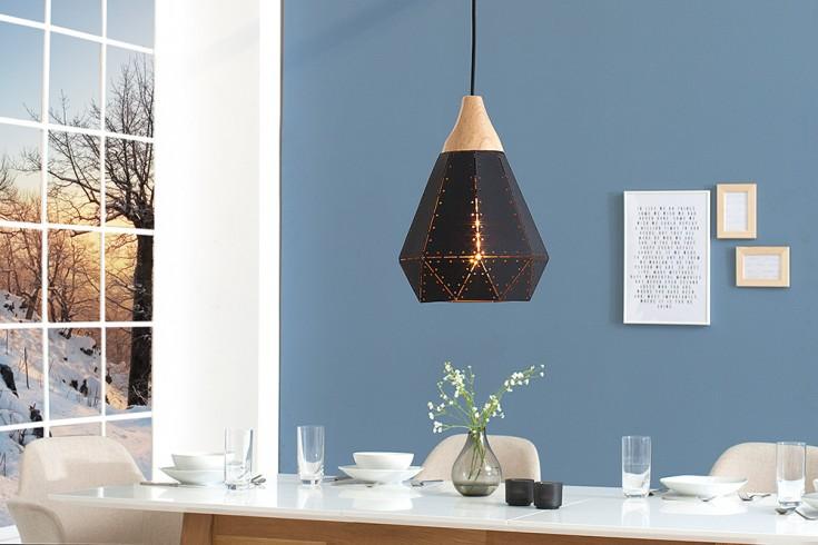 Moderne Hängeleuchte SCANDINAVIA I 28cm schwarz Scandinavian Design