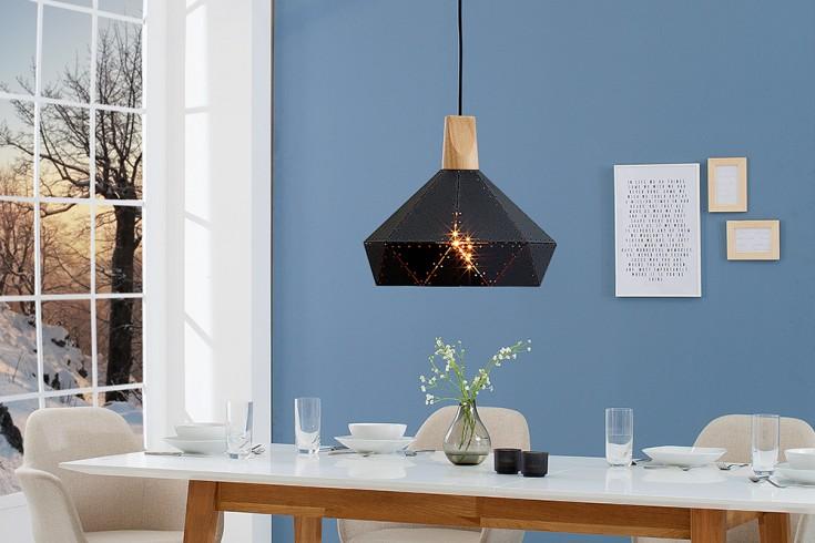 Moderne Hängeleuchte SCANDINAVIA II 32cm schwarz Scandinavian Design