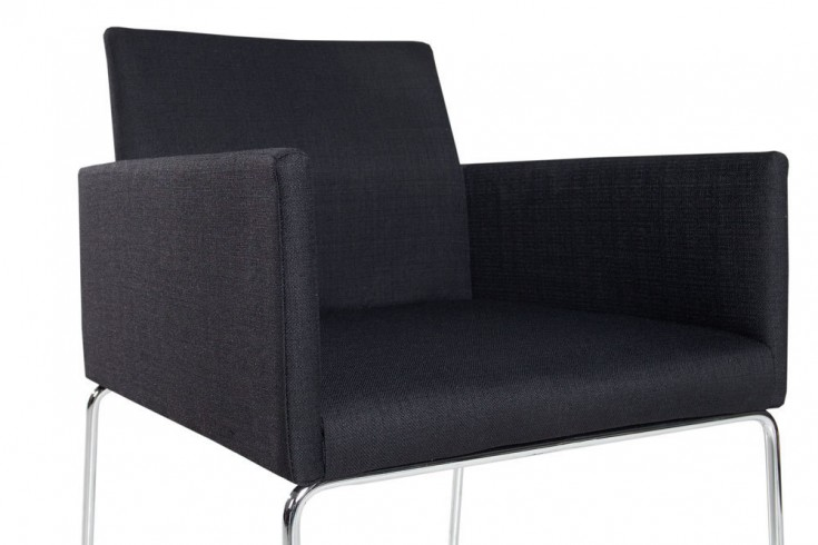 Eleganter design stuhl livorno strukturstoff schwarz for Eleganter design stuhl livorno strukturstoff grau