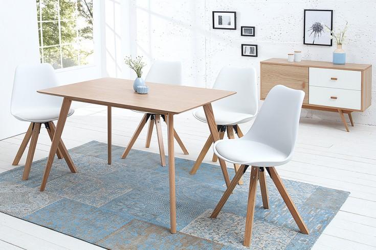 Stylischer echt Eiche Esstisch HYGGE 120cm skandinavisches Design