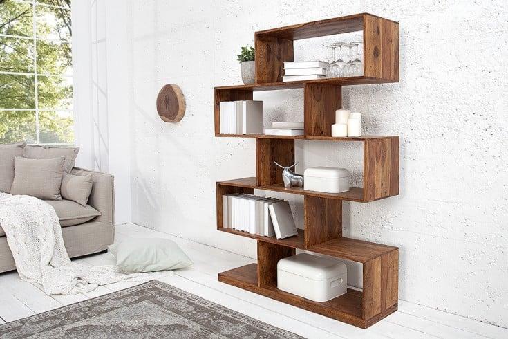 massives regal 150cm sheesham holz riess. Black Bedroom Furniture Sets. Home Design Ideas