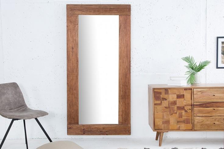 Massiver Spiegel HEMINGWAY 180cm aus recyceltem Teakholz