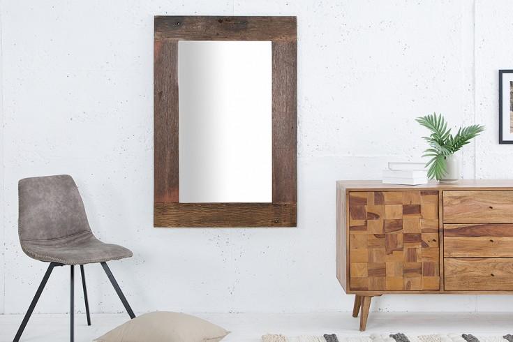 Massiver Spiegel HEMINGWAY 120cm aus recyceltem Teakholz