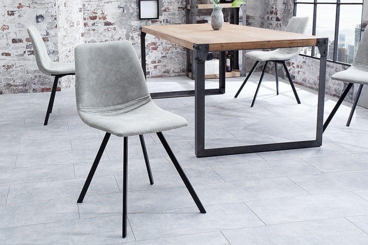 Retro Stuhl AMSTERDAM CHAIR stone grau Designklassiker