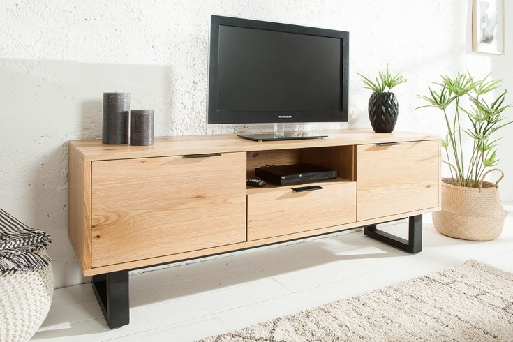 Design Lowboard CANADIAN WILD OAK 150cm Eiche TV-Board