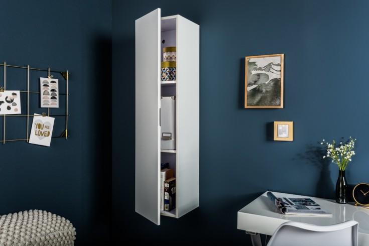 Moderner Design CUBE 120 cm weiß Hochglanz 3 Fächer Wandregal Hängeschrank