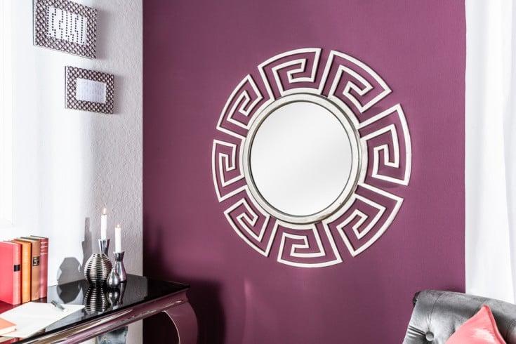 Glamouröser Design Spiegel EUPHORIA 85cm silber Wandspiegel