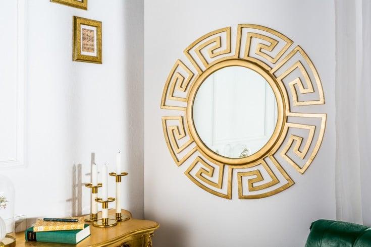 Glamouröser Design Spiegel EUPHORIA 85cm gold Wandspiegel