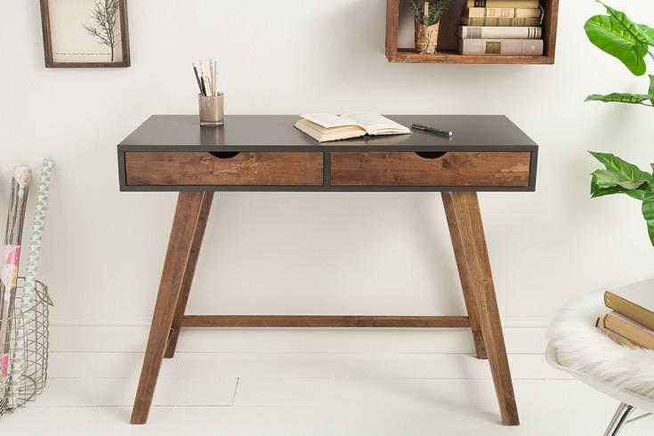 Geräumiger Konsolentisch SCANDINAVIA 100cm grau Scandinavian Design Schreibtisch