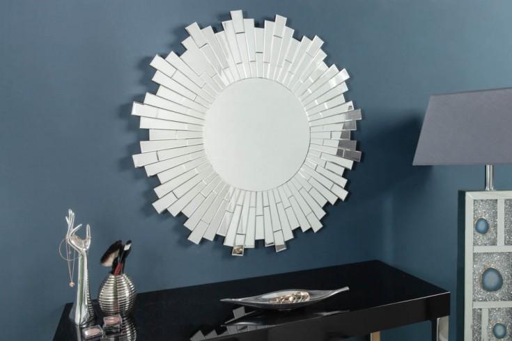 Eleganter Design Wandspiegel MOSAIK 90cm rund im Mosaik-Stil