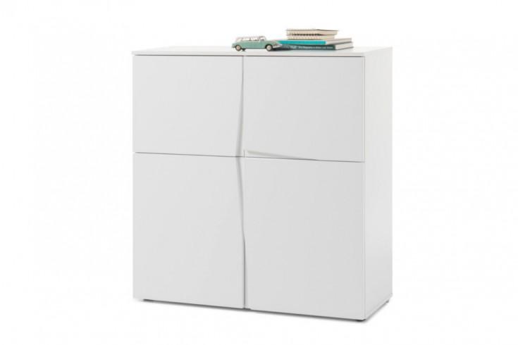 Moderne Kommode ORGANIC 100cm weiß Modern Design