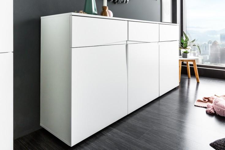 Modernes Sideboard ORGANIC LIVING 150cm weiß Modern Design