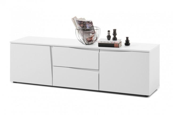 Modernes Lowboard ORGANIC 150cm weiß Modern Design