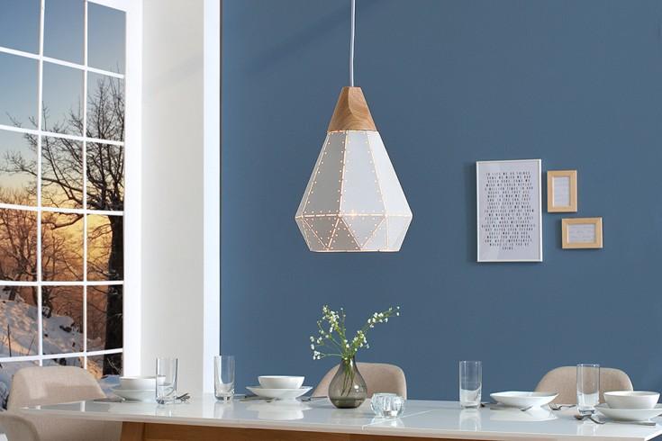 Moderne Hängeleuchte SCANDINAVIA I 29cm weiß Scandinavian Design