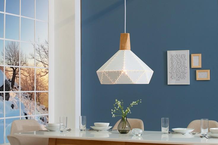 Moderne Hängeleuchte SCANDINAVIA II 32cm weiß Scandinavian Design