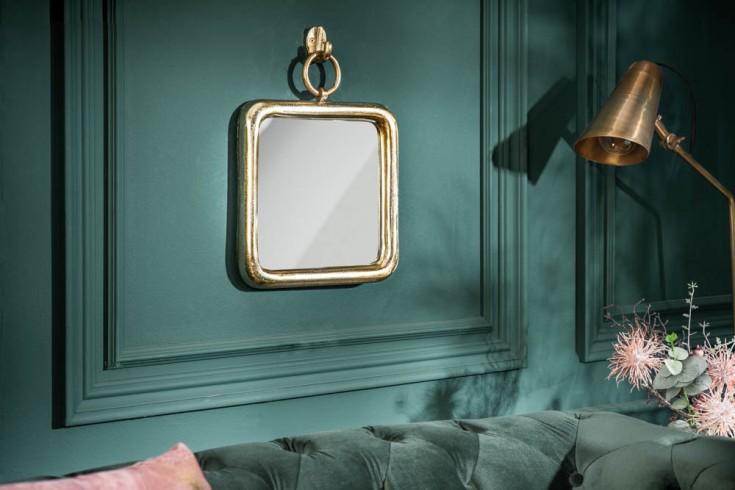 Eleganter Wandspiegel PORTRAIT 35cm gold inkl. Aufhängung