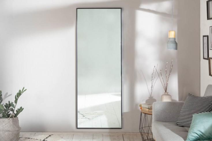 Großer Wandspiegel NOEMI 160cm schwarz im Modern Design