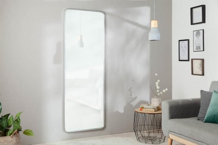 Großer Wandspiegel ELEGANCIA 170cm silber im Modern Design