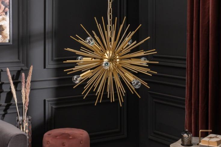 Elegante Hängeleuchte SUNLIGHT 50cm gold Hängelampe