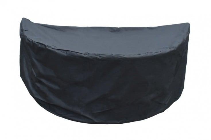 Strapazierfähige Regenschutzhülle PLAYA LIVING 170cm schwarz für Sonneninseln