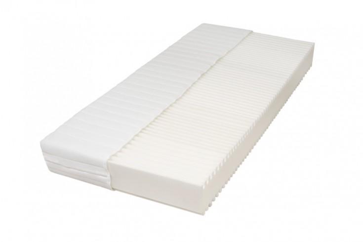 Premium 7-Zonen Komfortschaum-Matratze DREAM 80x200cm weiß