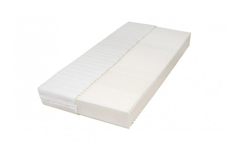 Premium 7-Zonen Komfortschaum-Matratze DREAM 90x200cm weiß