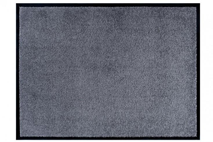Strapazierfähige Fußmatte CLEAN 60x40cm grau Fußabtreter Modern Design