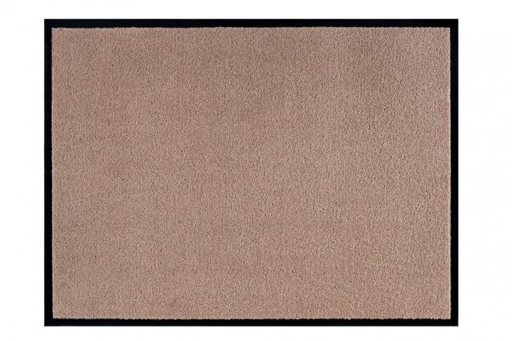 Strapazierfähige Fußmatte CLEAN 60x40cm beige Fußabtreter Modern Design