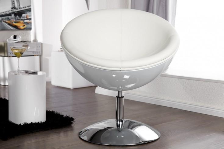 Lounge Sessel GALAXY weiß