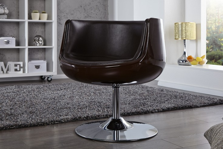 Exklusiver Drehsessel COMBO coffee Cocktailsessel