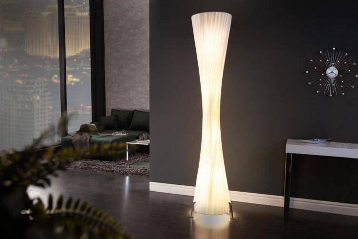 Moderne Design Stehlampe PARIS XXL 200cm weiß Stehleuchte