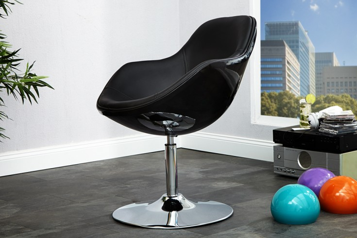 Design Sessel SPEEDCHAIR schwarz total